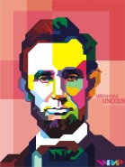 Abraham Lincoln graphic
