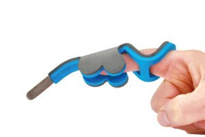 Extension stylus on finger from ShapeDad