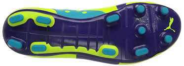 Bottom of a scuba shoe showing tread and grip
