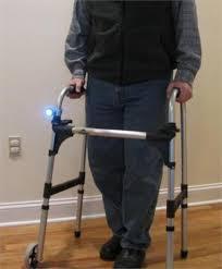 Mobility Light on Walker